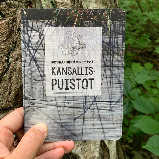Kotimaan kiertäjä metsässä - kansallispuistot