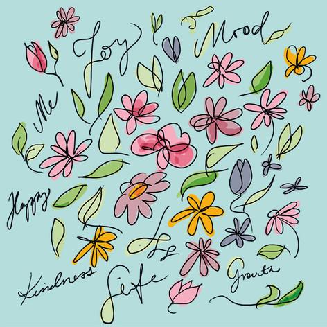 Kukka piirros