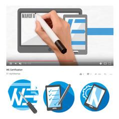 WE Certification infograafit ja selitysvideo