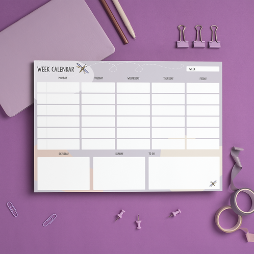 Week Calendar (pdf)