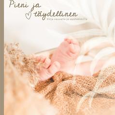 Pieni ja täydellinen -vauvakirjan kannen kuvitus