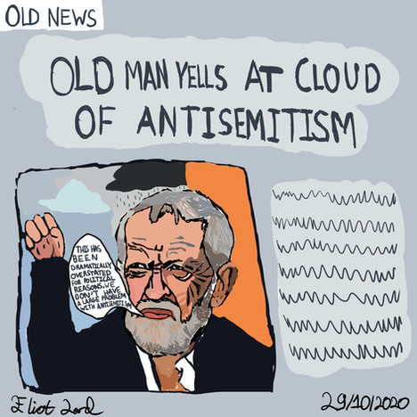 Old Man Yells At Antisemitism