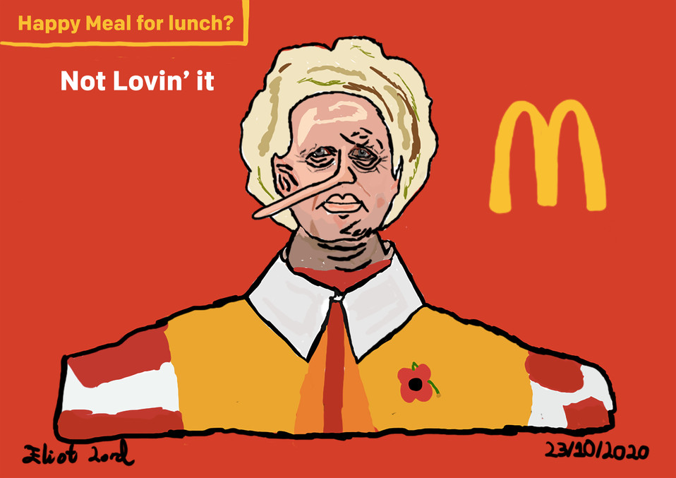 Happy Meal for Lunch