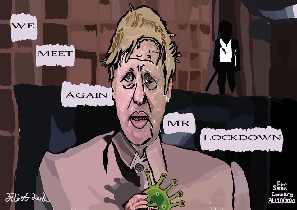 We Meet again Mr Lockdown