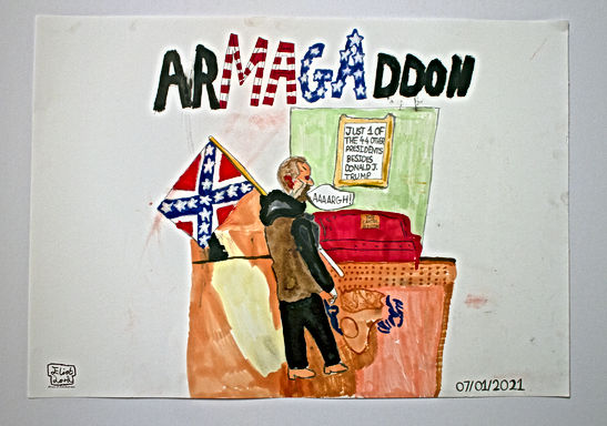 ArMAGAddon- A work by Eliot Lord