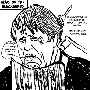 Head of The Blockheads
