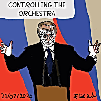 Putin Controlling his Orchestra