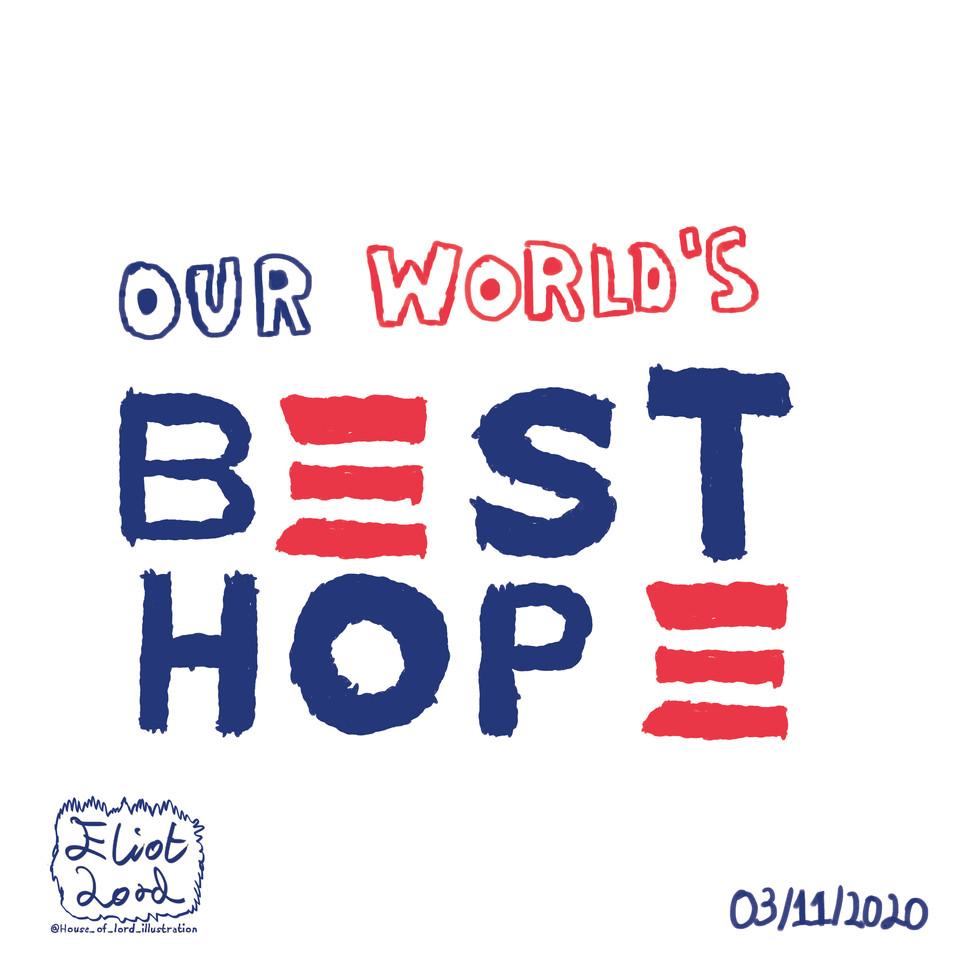 Biden Harris Best Hope