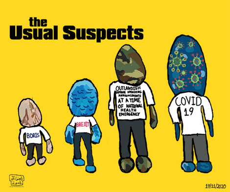 The Usual Suspects - A Work By Eliot Lord