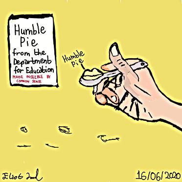 Humble Pie Made Possibly By Common Sense