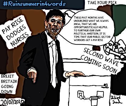 #Ruinsummerin4words