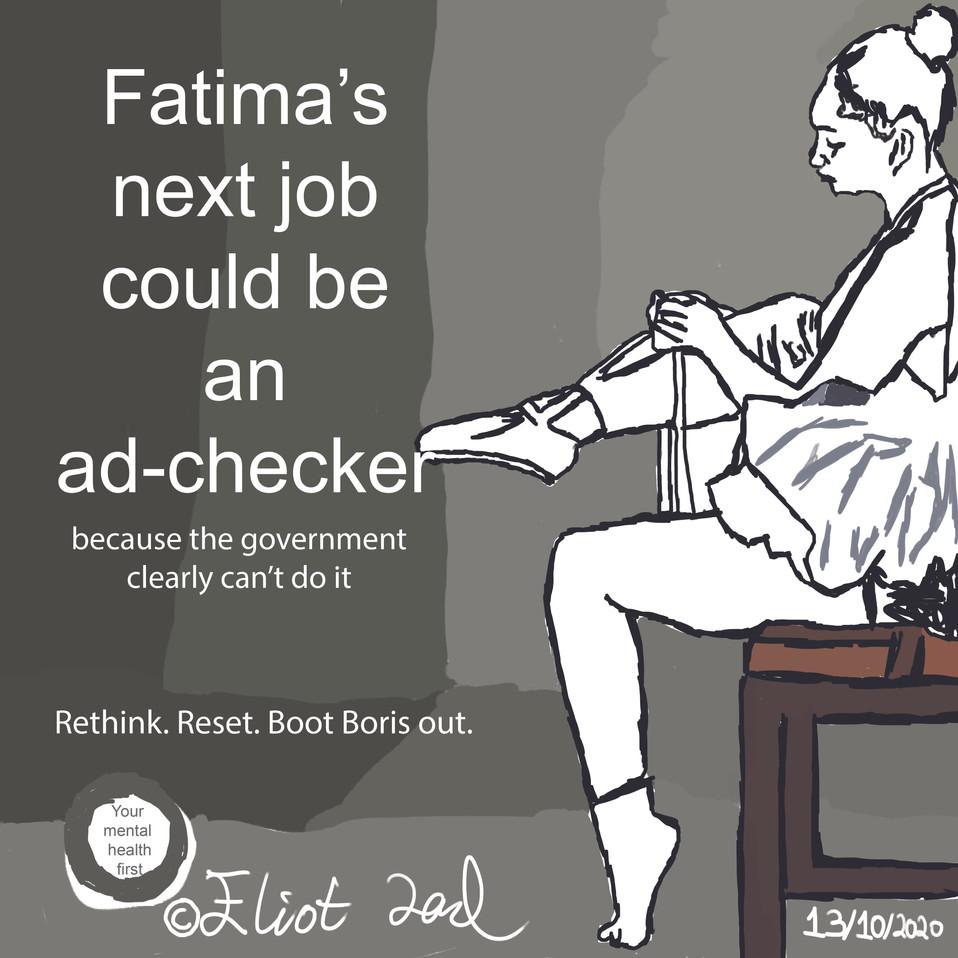 Fatima's Next Job