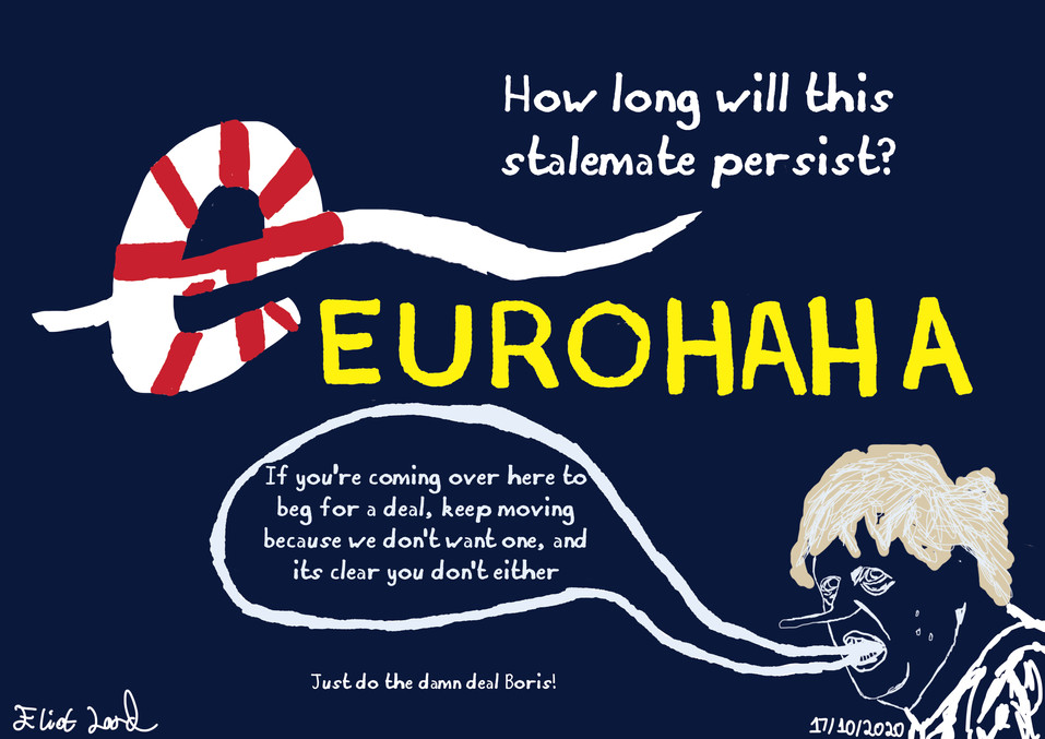 EuroHaHa- A Work By Eliot Lord