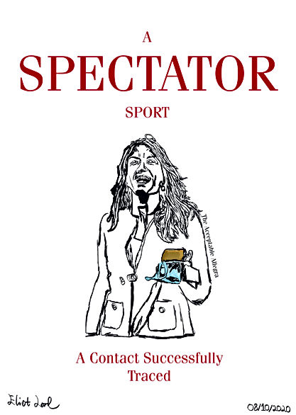 A Spectator Sport For Allegra
