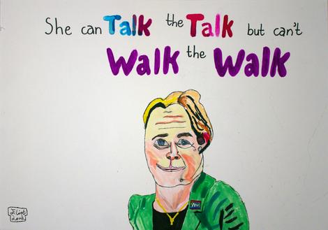 Can Talk the Talk but Can't Walk the Walk