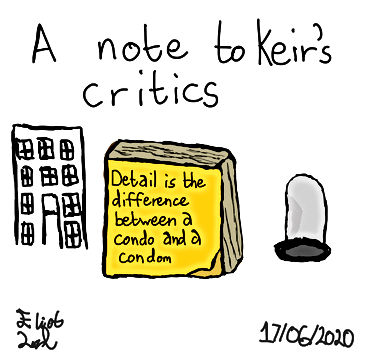 A note to Keir's Critics