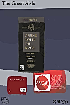 Green's Not In The Black