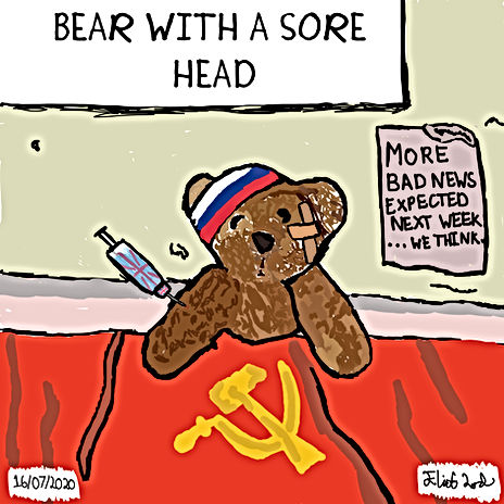 Bear With A Sore Head