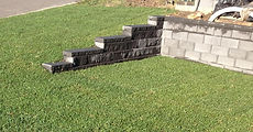 Dry stack block walls are easy to install and value for money, they are excellent for curved walls.