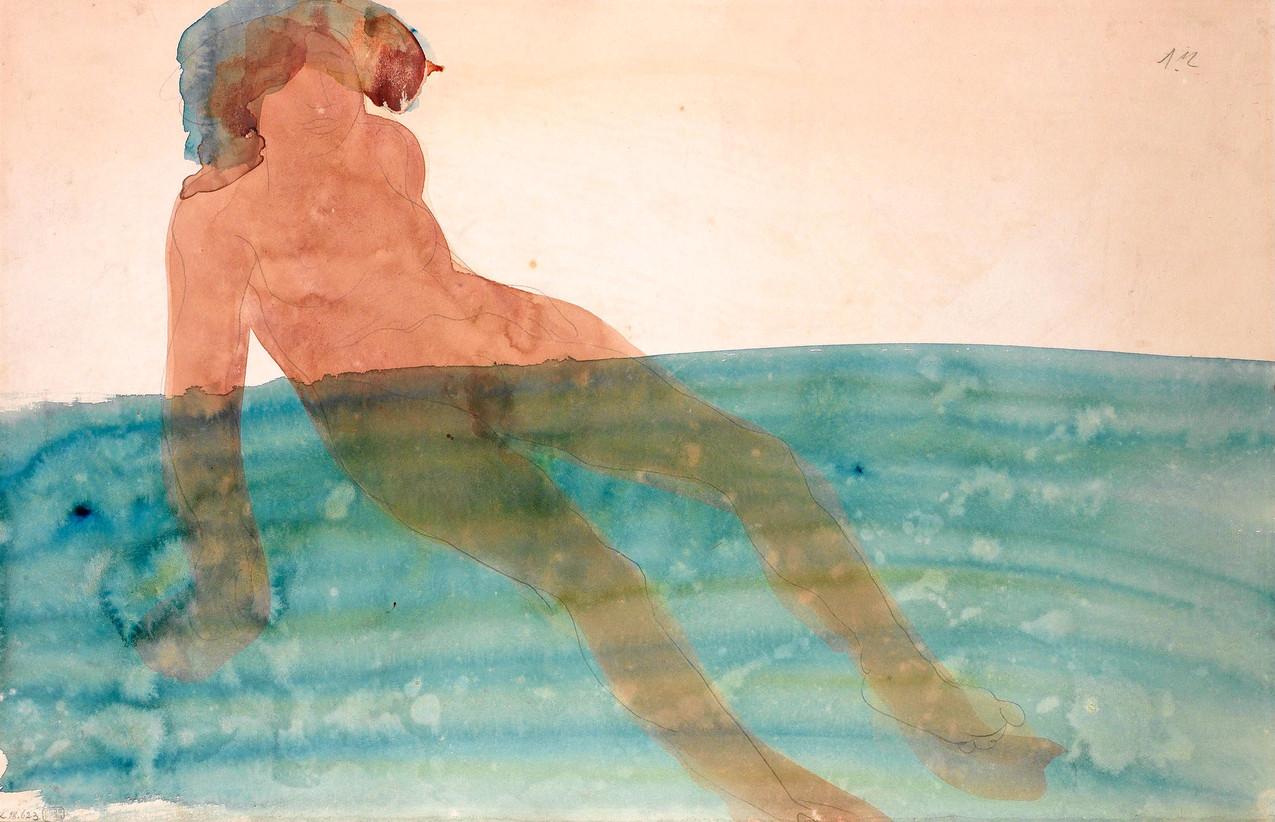 Огюст Роден, Bathing Woman
