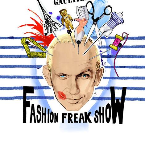 Fashion Freak Show: легендарный Жан-Поль Готье представит в Москве авторский проект