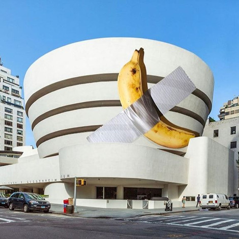 Банан Маурицио Кателлана стоимостью $120 тыс. подарили Музею Гуггенхайма