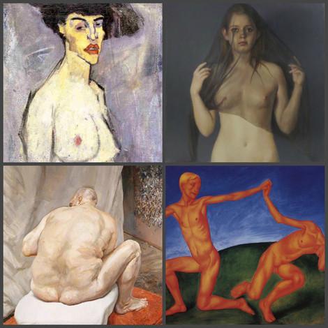 8 художников, для которых обнажённое тело – это искусство