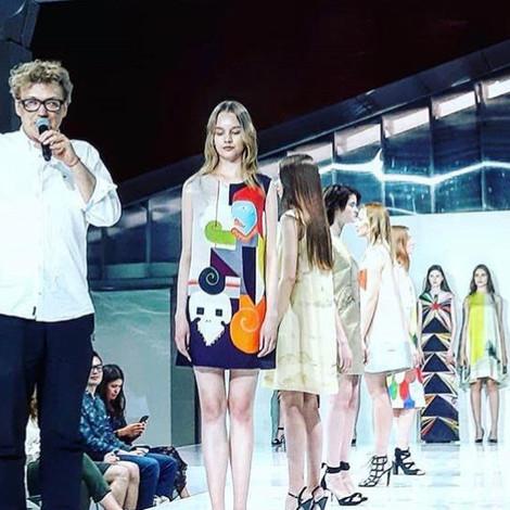 """В Музее """"Гараж"""" прошел показ дизайнерской одежды Павла Пепперштейна «Видения о далеком буд"""