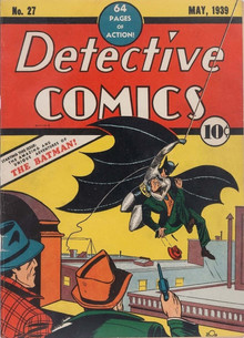 Первый комикс о Бэтмене продали на аукционе за $1,5 миллиона