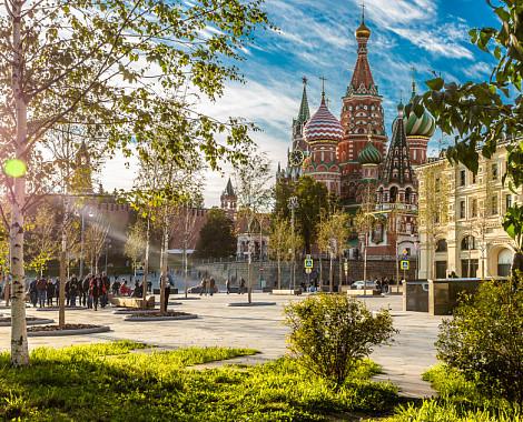 День города отметят фестивалем в парке «Зарядье»