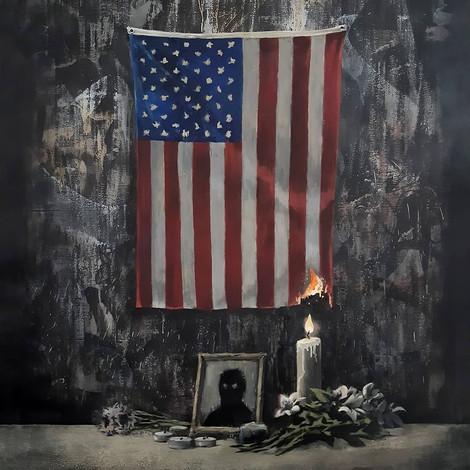 Бэнкси посвятил новую работу антирасистским протестам в США