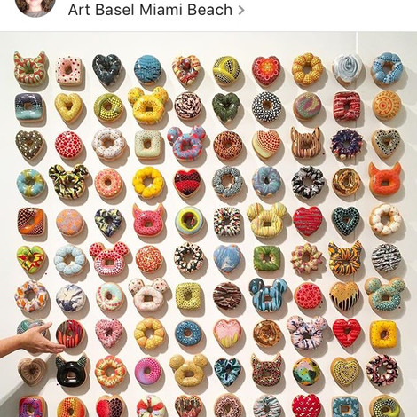 Insta-mania: ART BASEL MIAMI BEACH