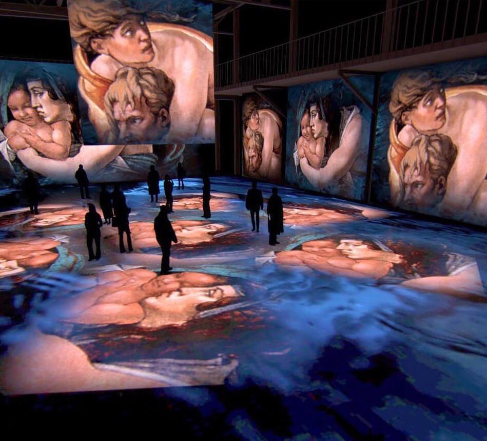 Выставка Artplay Media «Микеланджело. Сикстинская капелла»