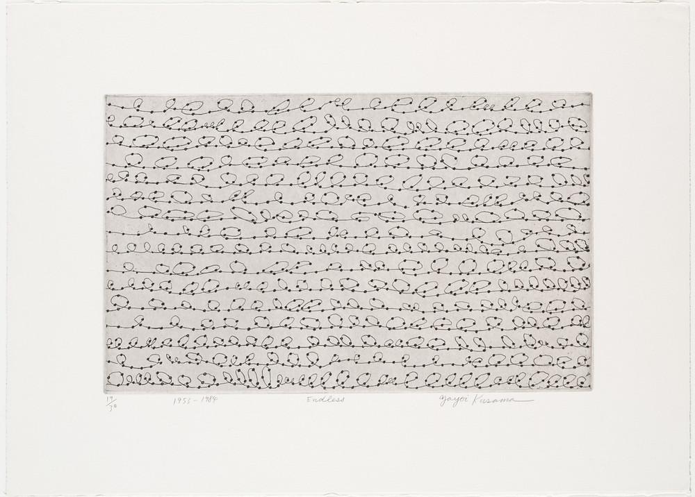 «Бесконечный», Yayoi Kusama, 1984