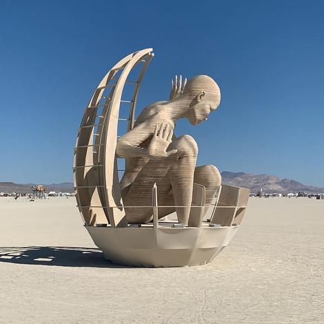 Самые яркие костюмы фестиваля Burning Man 2019