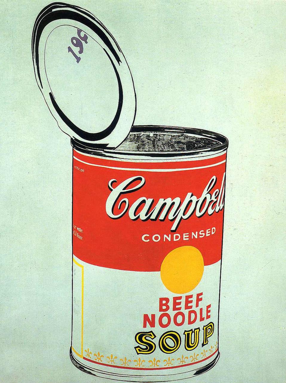 «Банки с супом Кэмпбелл» (Энди Уорхо