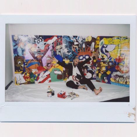 Выставка 7:00 AM художника Александра Тито