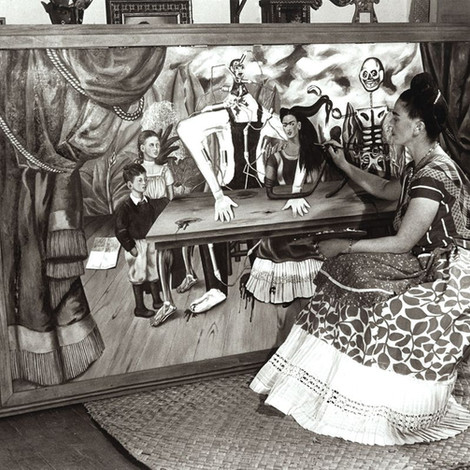 Найдена пропавшая картина Фриды Кало «Раненый стол»