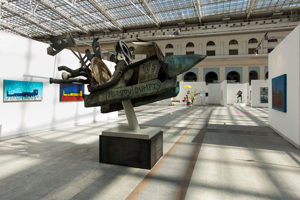 Выставка DA!MOSCOW! в Гостином дворе