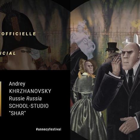 Мультфильм Андрея Хржановского выиграл приз жюри на международном анимационном фестивале в Анси