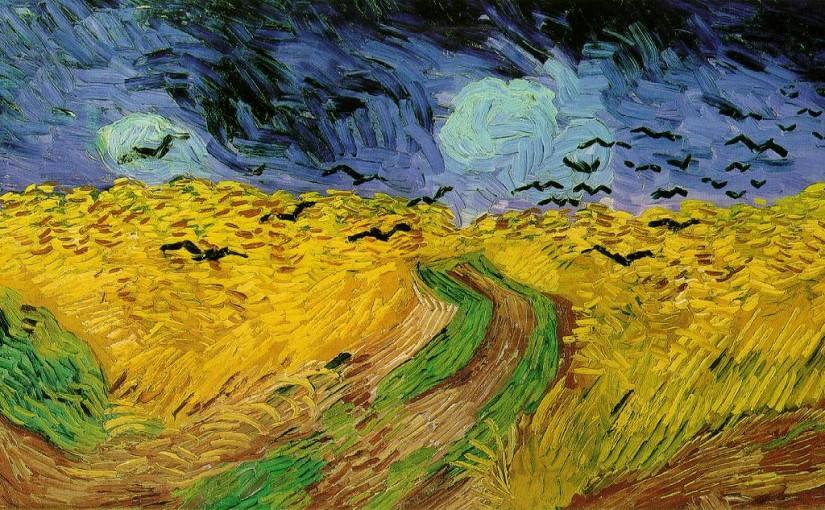 Ванг Гог «Пшеничное поле с воронами»