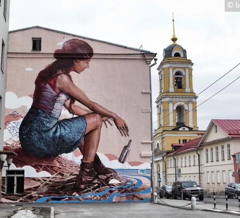 Найдите любимые граффити города по карте