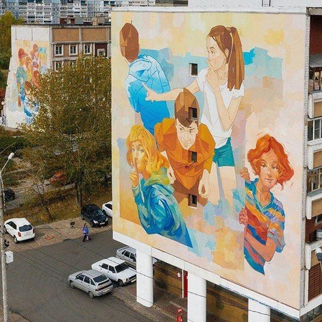 ARTпатруль в Нижнем Новгороде: культурный путеводитель по столице отечественного стрит-арта