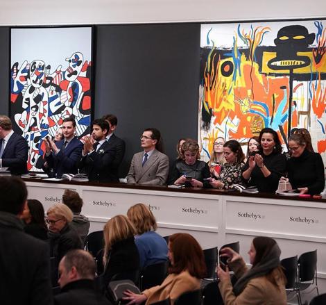 Картина Дэвида Хокни почти за $30 млн и другие итоги аукциона современного искусства Sotheby's