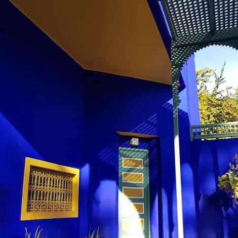 Экскурсия по вилле Ива Сен-Лорана в Марокко