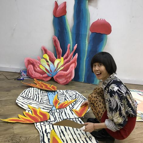 Vika Pica – о магии дикой природы, важности тактильности в творчестве и новой коллекции ART FLASH WI
