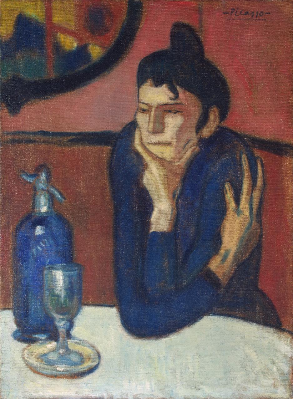 Пабло Пикассо «Любительница абсента»