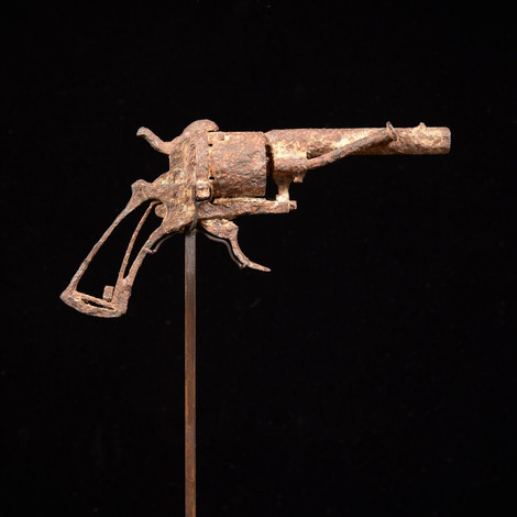 Знаменитый револьвер Ван Гога продан на аукционе за €162 тыс.