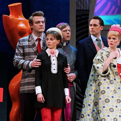 3 новых спектакля ноября 2019 в Театре имени Моссовета