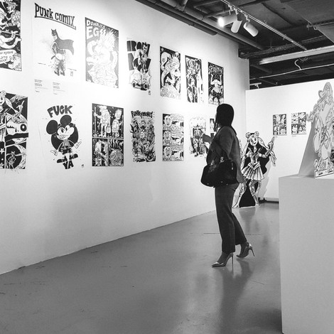 Must visit: выставка панк-комиксов в галерее Cubed